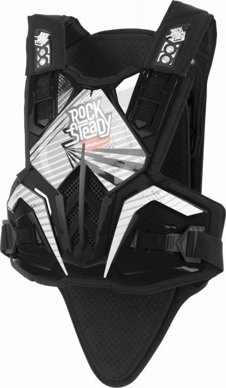 Chest & back protector ROCKSTEADY FUSION long version black