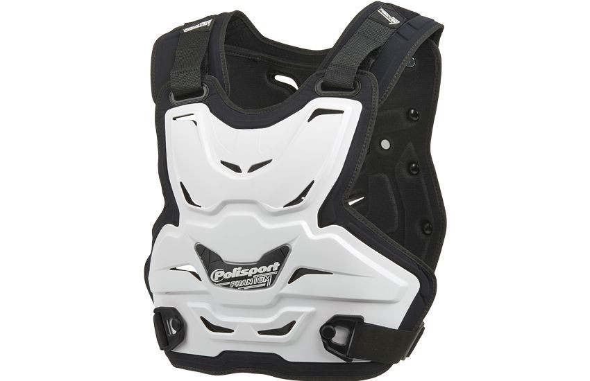 Chest protector PANTHOM LITE white