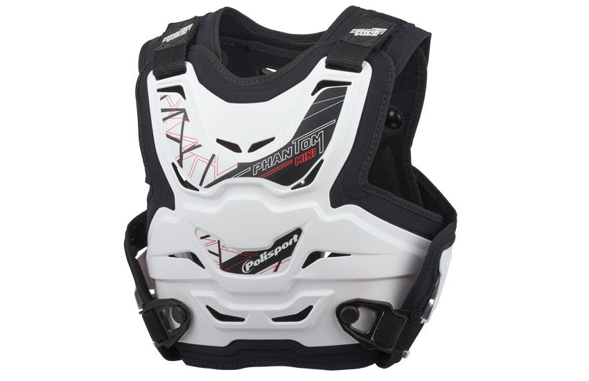 Chest protector PANTHOM MINI white