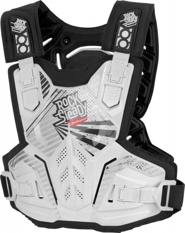 Chest protector ROCKSTEADY PRIME YOUNGSTER junior white