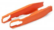 Swingarm protectors POLISPORT PERFORMANCE orange KTM
